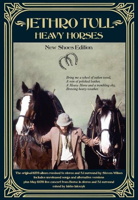 Jethro Tull 'Heavy Horses' Box Set Announced, 3 CD/2 DVD Boxset Details, New Shoes Edition
