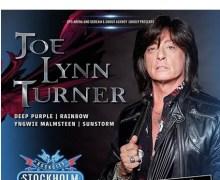 Joe Lynn Turner @ Rock City Stockholm 2018 Announcement