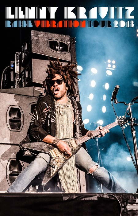 Lenny Kravitz 2018 Tour European Dates, Tickets, Schedule, Raise Vibration