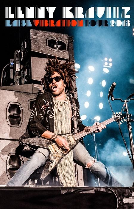 Lenny Kravitz 2018 Tour European Dates, Tickets, Schedule, Raise Vibration