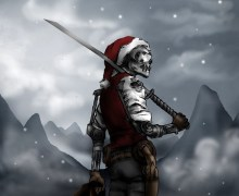 Megadeth Christmas Card Contest Opportunity, Win Dave Mustaine Signature Guitar, VIP