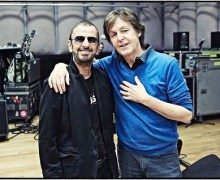 "Paul McCartney: ""Huge congrats Sir Ringo! Sir Richard Starke"" Starr Knighted"