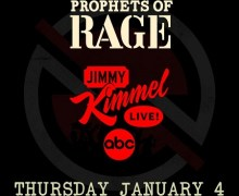 Prophets of Rage on Jimmy Kimmel Live