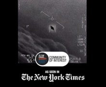 "UFOs-Tom DeLonge, ""first ever footage of UAPs"" (Unidentified Aerial Phenomena)"