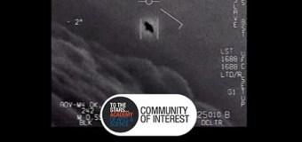 "UFOs-Tom DeLonge, ""first ever footage of UAPs"" (Unidentified Aerial Phenomena)"