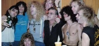 RATT Drummer Pete Holmes Talks Steven Tyler, Aerosmith Black 'N Blue Tour  '84-85