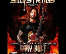 Gary Holt Guitar Clinic @ Silly Strings in Petaluma – Exodus/Slayer Guitarist
