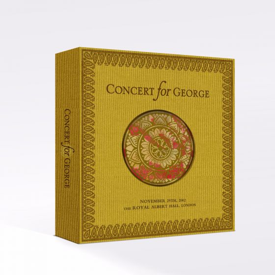 George Harrison 'Concert for George' Box Set @ Royal Albert Hall - boxset