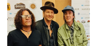 Guns N' Roses: Izzy Stradlin Makes Rare Appearance @ Rumble Documentary Screening