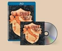 L.A. Guns 'Made in Milan' – New LIVE Album Announced