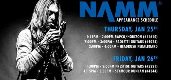 Rex Brown NAMM 2018 Schedule PANTERA, DOWN Seymour Duncan Pickups