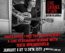 TODAY: Rick Springfield Facebook / YouTube Live Session Interview & Performance
