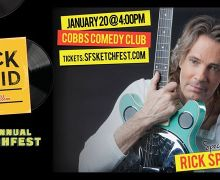 Rick Springfield in San Francisco @ Cobb's Comedy Club – SF Sketchfest – Rock Solid Podcast