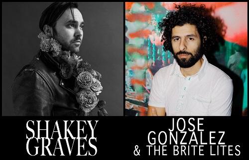 Shaky Graves & Jose Gonzalez 2018 Tour - Dates/Tickets