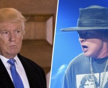 """Axl Rose, """"The White House is the current US gold standard of what can be considered disgraceful."""""""
