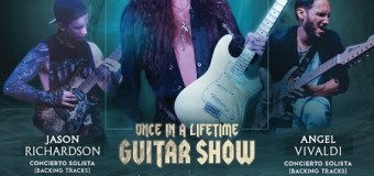 Yngwie Malmsteen Master Class 2018 in Mexico Announced @ Foro Viena