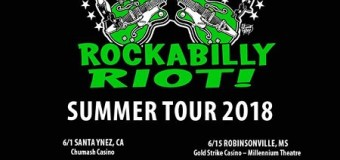 Brian Setzer 2018 US Tour Announced – Rockabilly Riot
