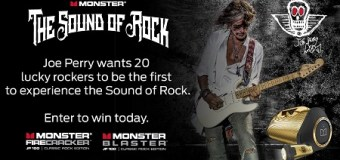 Opportunity: Joe Perry/Monster Boombox Giveaway