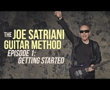 "Joe Satriani Debuts ""Guitar Method"" Series – Episode 1 – Lessons"