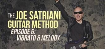 Joe Satriani Guitar Lesson Vibrato & Melody