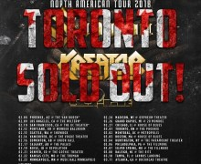 Sabaton/Kreator 2018 Tour Toronto SOLD OUT – Denver, Chicago, Madison, Boston, Philadelphia, Tampa