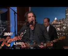 Rick Springfield: Jimmy Kimmel w/ Cleo and the Cletones House Band