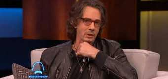 "Rick Springfield on the Steve Harvey TV Show, ""There's a lot of dark stuff on this record"" – The Snake King"