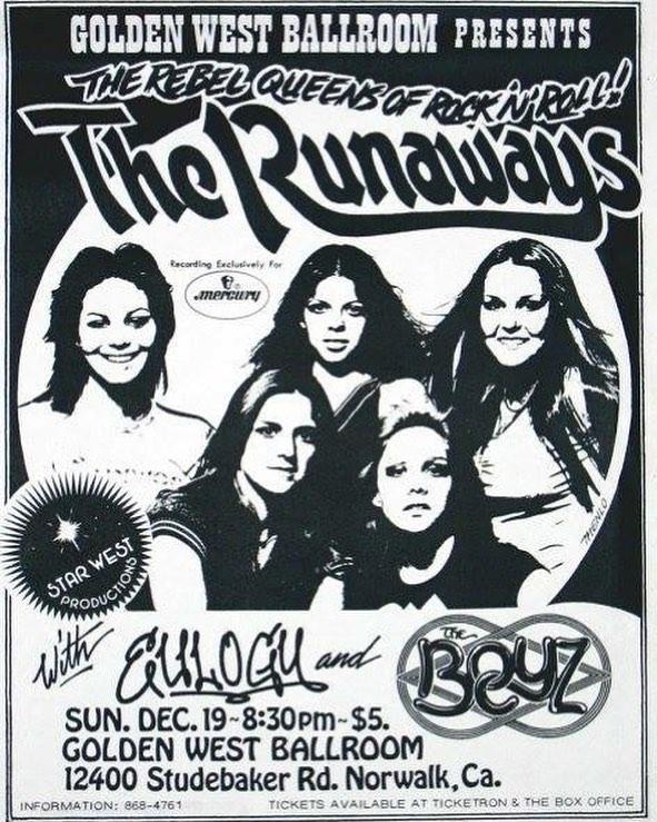 """George Lynch, """"I saw Van Halen battle Y&T and UFO"""" - The Boyz - The Runaways"""