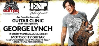 George Lynch Guitar Clinic 2018 @ Motor City Guitar in Waterford, MI