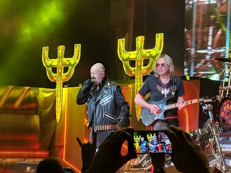 Glenn Tipton @ Judas Priest Newark, NJ Concert - Footage/Photos