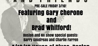 Joe Perry & Friends w/ Gary Cherone, Brad Whitford – Boston, Hampton, Atlantic City