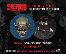 Kreator 'Behind the Mirror' Record Store Day 2018