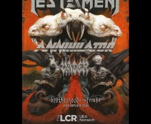 Testament/Annihilator 2018 Tour (UK/Ireland)