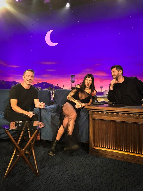 "ODESZA on Conan - ""Higher Ground"""