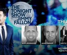 Arctic Monkeys on Jimmy Fallon – The Tonight Show – 'Tranquility Base Hotel & Casino'