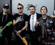 Blink-182 on Jimmy Kimmel Live – Las Vegas Residency 2018