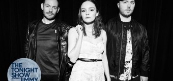 CHVRCHES on Jimmy Fallon – The Tonight Show