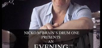 An Evening With Ian Paice (Deep Purple) Hosted By Nicko McBrain (Iron Maiden) – Parr Hall, Warrington