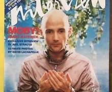 """Moby, """"The end of an era… goodbye Interview Magazine"""""""