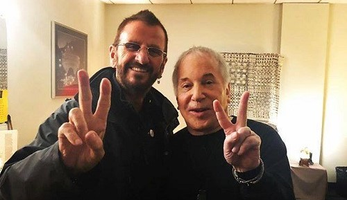 Paul Simon w/ Ringo Starr @ Hollywood Bowl - 2018 Farewell Tour
