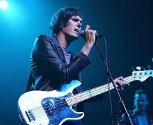 The Strokes: Nikolai Fraiture on Late Night with Seth Meyers w/ 8G Band 2018