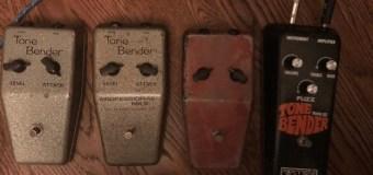 George Lynch:  Tone Bender MK 1, 2, III Guitar Pedal + Jimmy Page