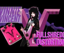 Vinnie Vincent Distortion Guitar Pedal FULLSHREDD Brochure – Pro Tone Pedals – Signature