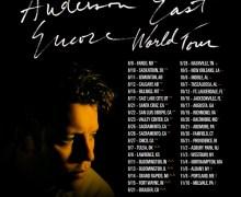 Anderson East US/Canada 2018 Tour Dates Announced – Calgary, Salt Lake City, Santa Cruz, Boulder, Nashville, New Orleans