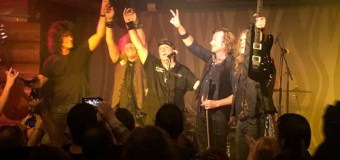 KISS: Tommy Thayer Reunites with Black 'N Blue – Video – 2018 Annette Holmes Benefit