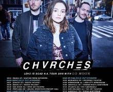 Chvrches w/ Lo Moon 2018 Tour Announced – US Dates