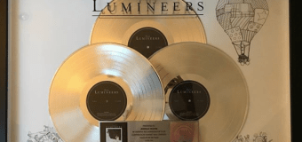 The Lumineers: 2012 Debut Album Goes 'Triple Platinum' – RIAA – US Record Sales