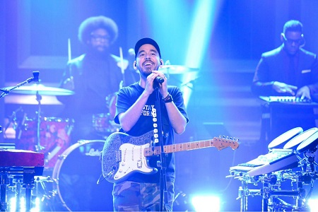 Linkin Park's Mike Shinoda on Jimmy Fallon - The Tonight Show 2018