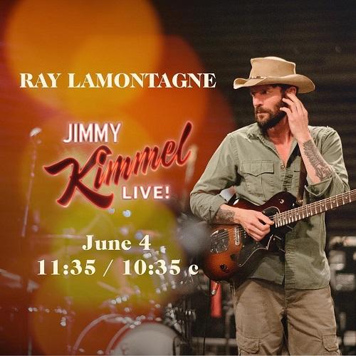 Ray LaMontagne on Jimmy Kimmel Live 2018