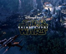 Star Wars: Galaxy's Edge Opening Date Announced – Disneyland & Disney World 2019 – Construction – Aerial